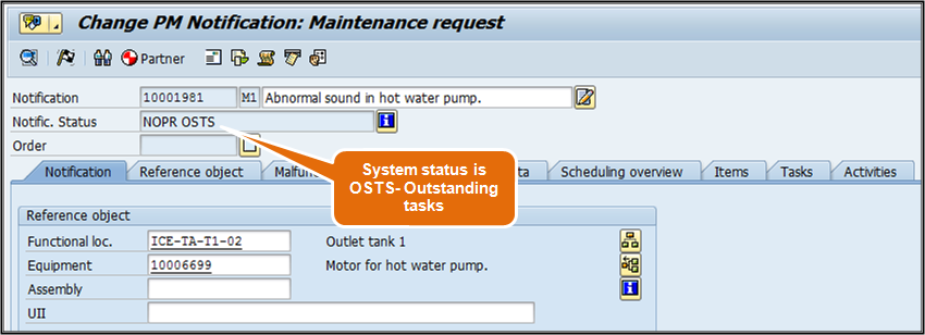 Beginner's Guide to learn maintenance notification in SAP PM